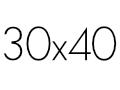 30×40 cm