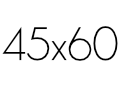 45×60 cm